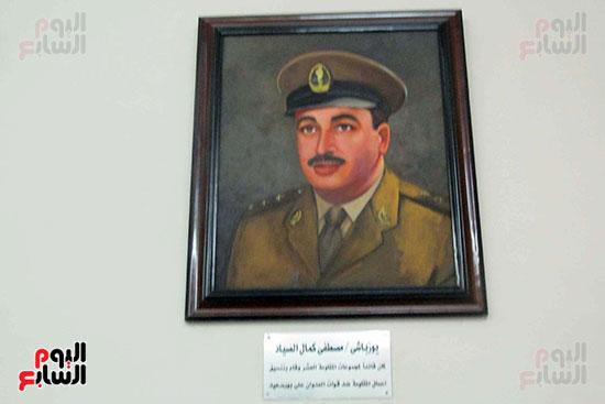 يوزباشى مصطفى كمال الصياد قائد مجموعات المقاومة ضد قوات العدوان الثلاثى