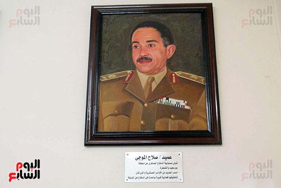 عميد صلاح الموجى تولى مسئولية الدفاع العسكرى بمنطقة بورسعيد والقنطرة