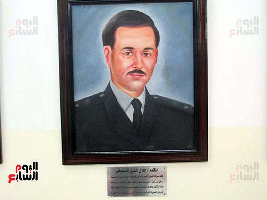 المقدم جلال الدين الدسوقى قائد معركة البرلس البحرية
