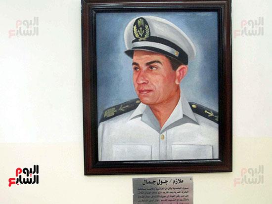 الملازم جول جمال سورى كان يدرس بالكلية البحرية ورفض العودة لبلاده وشارك فى الحرب