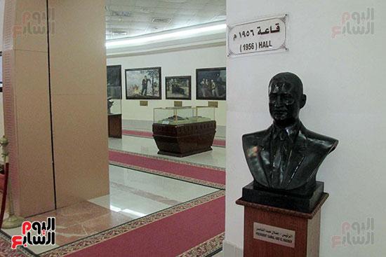 الرئيس جمال عبد الناصر وقاعة 1956