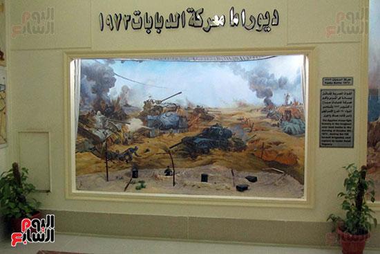 ديوراما معركة الدبابات 1973