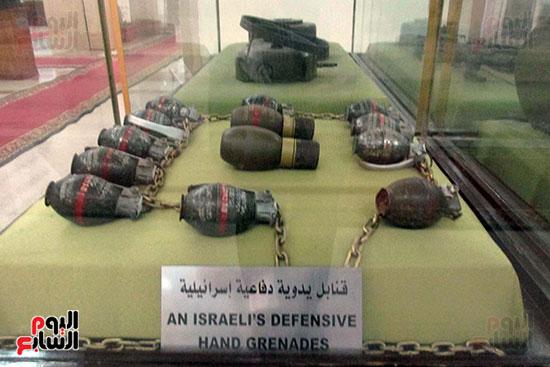 قنابل يدوية دفاعية إسرائيلية