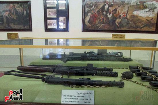 أسلحة الفدائيين المصريين