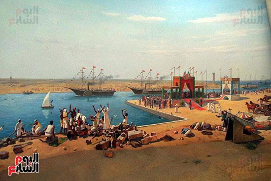 الاحتفال بافتتاح قناة السويس فى 1869