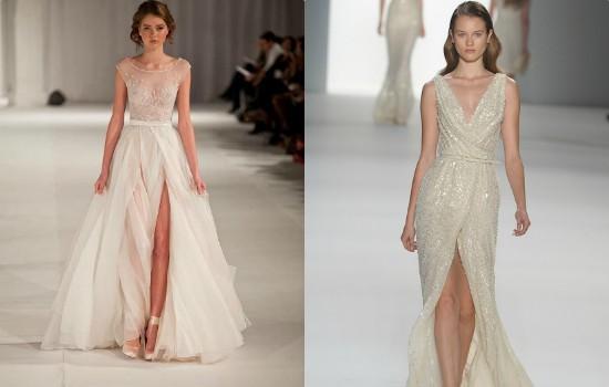 الفستان البيج الطويل