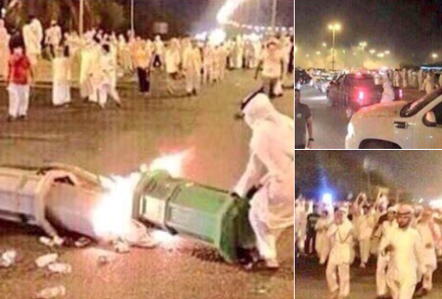 أعمال شغب فى قطر