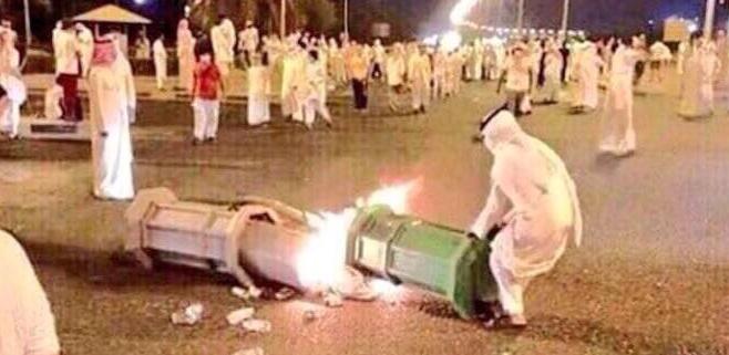 الشغب فى قطر