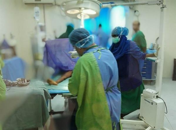 اجراء عملية دقيقة لطفل صومالى