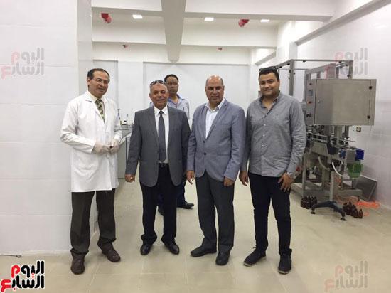 رئيس جامعة المتوسط يشيد بجامعة كفر الشيخ