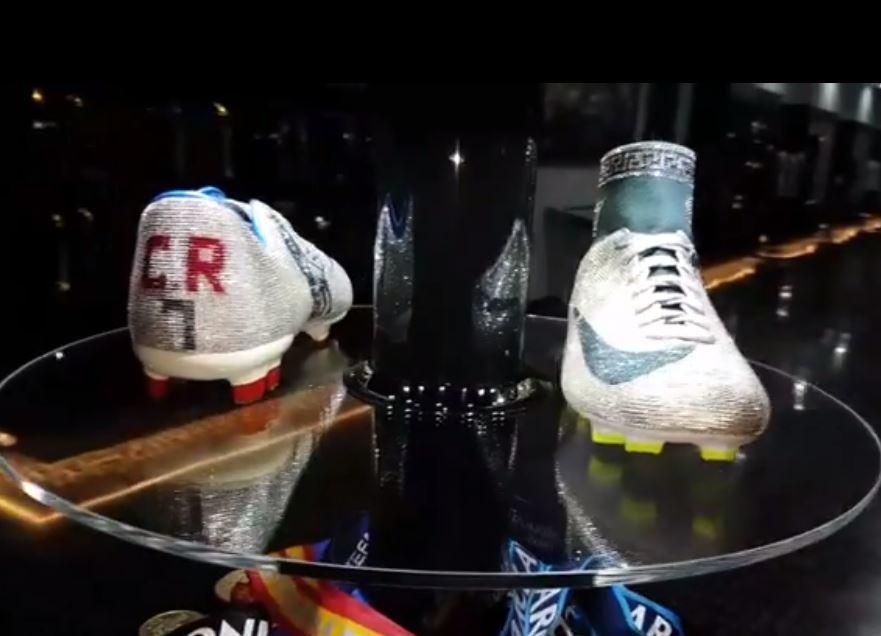 حذاء كريستيانو رونالدو