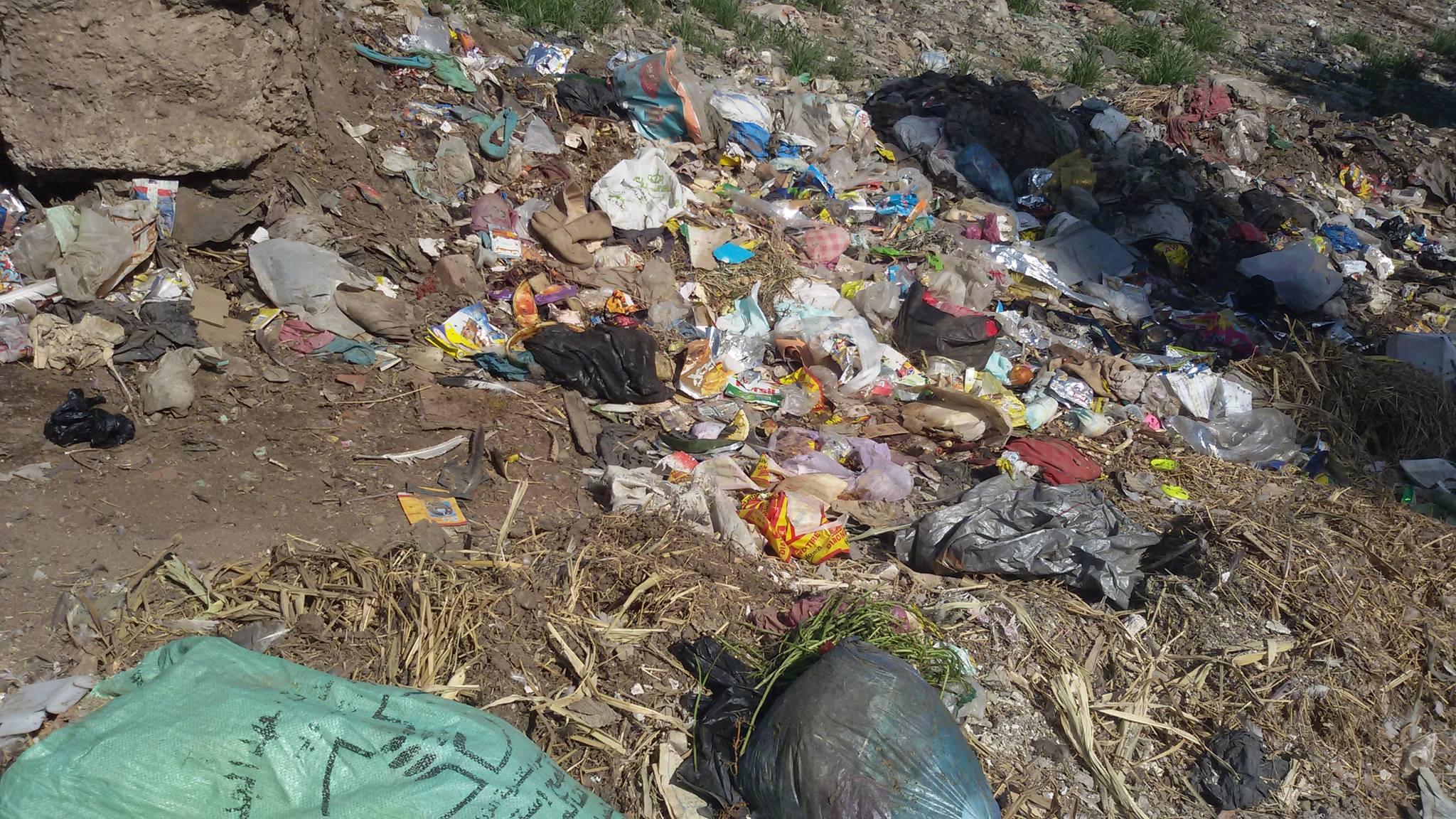 القمامة تزعج المواطنين