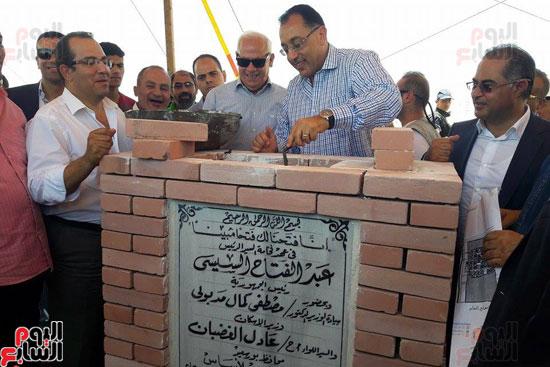 وزير الاسكان يتابع تخطيط انشاء المشروع