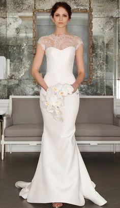 فساتين زفاف بأشكال مختلفة موضة 2017 اختارى اللى يناسبك