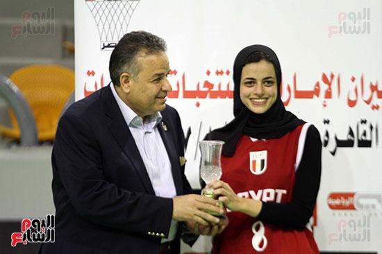مصر تتوج بلقب البطولة العربية لسيدات السلة (9)