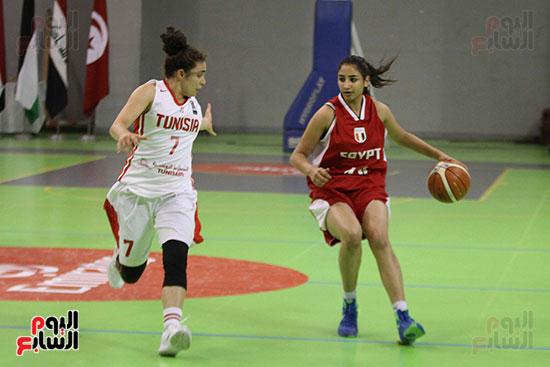 مصر تتوج بلقب البطولة العربية لسيدات السلة (55)