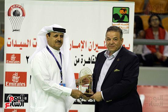 مصر تتوج بلقب البطولة العربية لسيدات السلة (11)