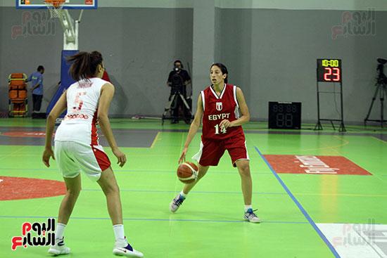 مصر تتوج بلقب البطولة العربية لسيدات السلة (40)