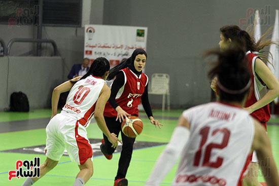 مصر تتوج بلقب البطولة العربية لسيدات السلة (27)