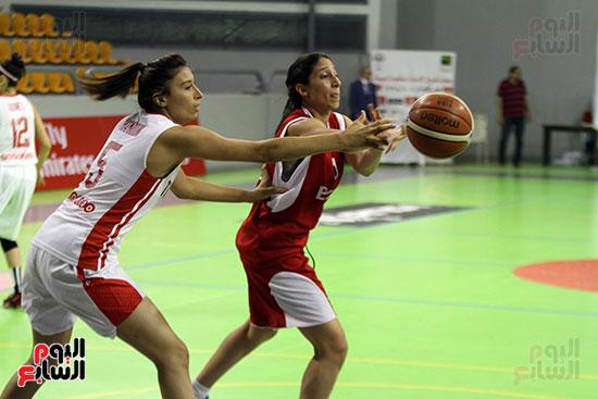 مصر تتوج بلقب البطولة العربية لسيدات السلة (42)
