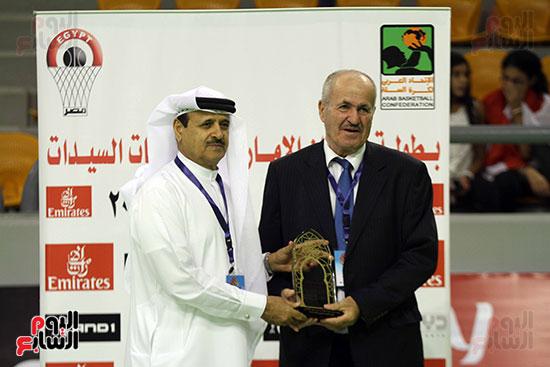 مصر تتوج بلقب البطولة العربية لسيدات السلة (12)