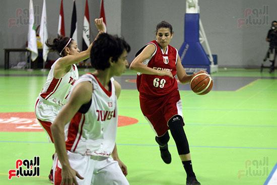 مصر تتوج بلقب البطولة العربية لسيدات السلة (48)