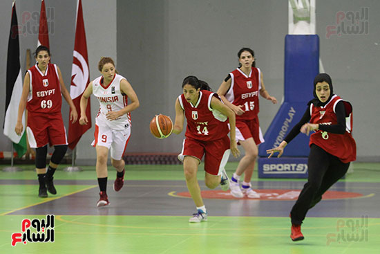 مصر تتوج بلقب البطولة العربية لسيدات السلة (34)