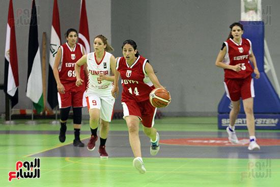 مصر تتوج بلقب البطولة العربية لسيدات السلة (35)