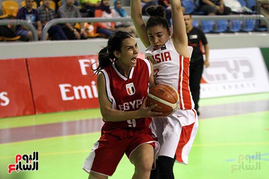 مصر تتوج بلقب البطولة العربية لسيدات السلة (32)