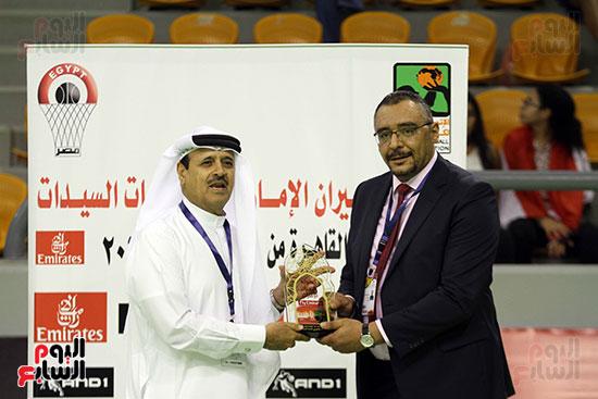 مصر تتوج بلقب البطولة العربية لسيدات السلة (13)