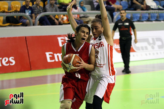 مصر تتوج بلقب البطولة العربية لسيدات السلة (31)