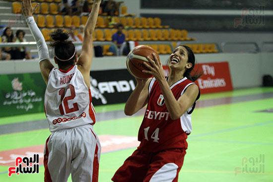 مصر تتوج بلقب البطولة العربية لسيدات السلة (38)