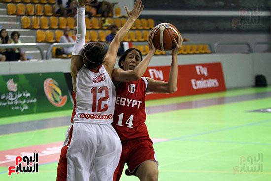 مصر تتوج بلقب البطولة العربية لسيدات السلة (37)
