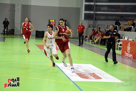 مصر تتوج بلقب البطولة العربية لسيدات السلة (49)