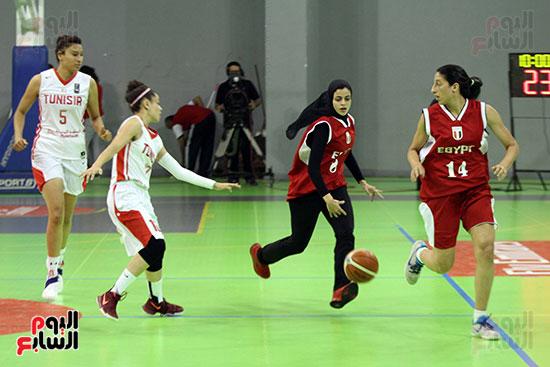مصر تتوج بلقب البطولة العربية لسيدات السلة (44)