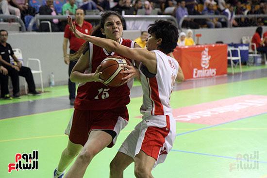 مصر تتوج بلقب البطولة العربية لسيدات السلة (66)