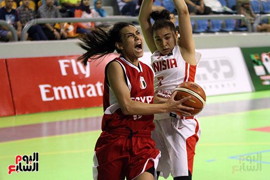 مصر تتوج بلقب البطولة العربية لسيدات السلة (33)