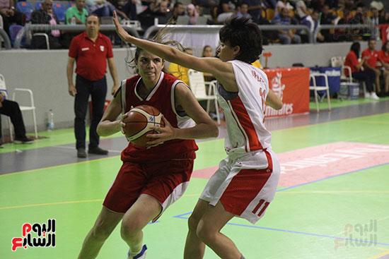مصر تتوج بلقب البطولة العربية لسيدات السلة (65)
