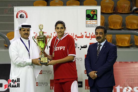 مصر تتوج بلقب البطولة العربية لسيدات السلة (7)