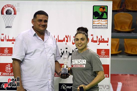 مصر تتوج بلقب البطولة العربية لسيدات السلة (8)