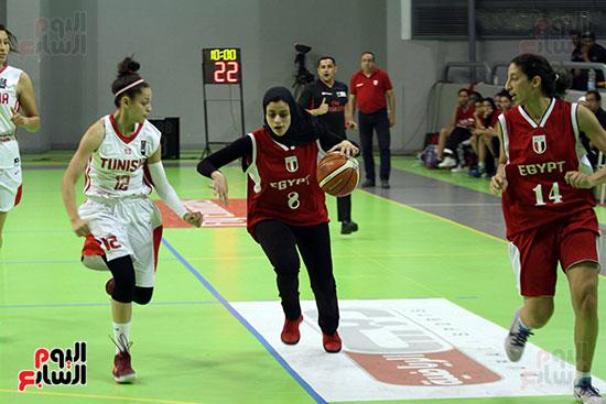 مصر تتوج بلقب البطولة العربية لسيدات السلة (46)