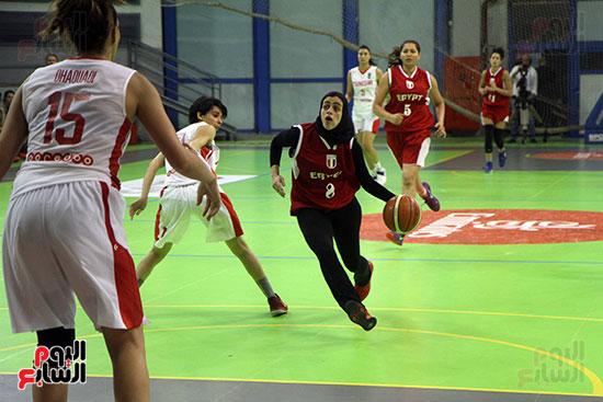 مصر تتوج بلقب البطولة العربية لسيدات السلة (61)