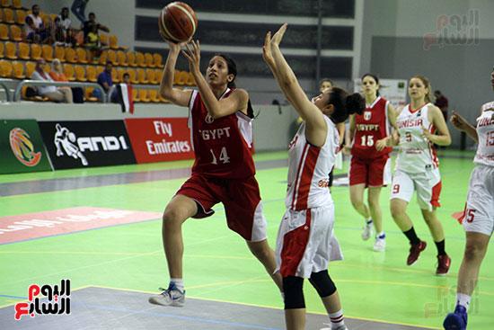 مصر تتوج بلقب البطولة العربية لسيدات السلة (24)