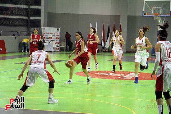 مصر تتوج بلقب البطولة العربية لسيدات السلة (22)