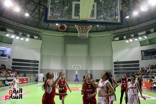 مصر تتوج بلقب البطولة العربية لسيدات السلة (60)