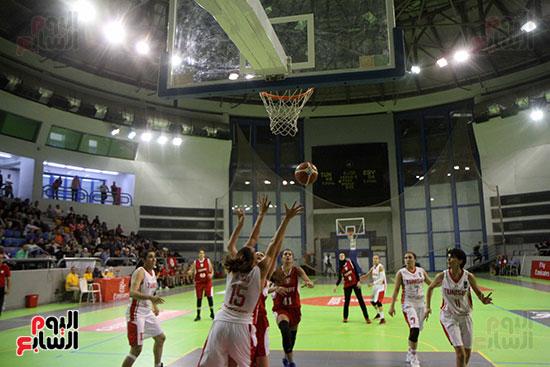 مصر تتوج بلقب البطولة العربية لسيدات السلة (64)