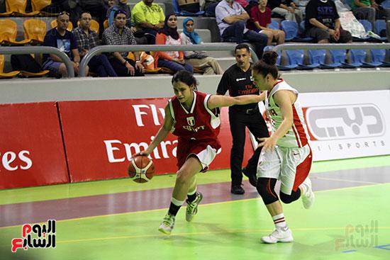 مصر تتوج بلقب البطولة العربية لسيدات السلة (28)