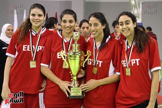 مصر تتوج بلقب البطولة العربية لسيدات السلة (17)