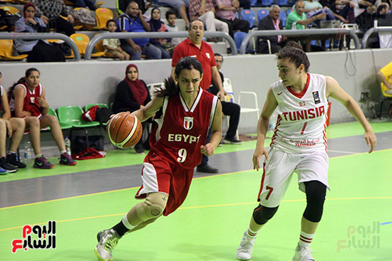 مصر تتوج بلقب البطولة العربية لسيدات السلة (63)