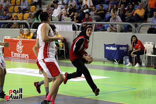 مصر تتوج بلقب البطولة العربية لسيدات السلة (54)